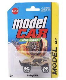 Playmate Die Cast Racing Force Military Car - Brown