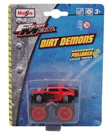 Maisto FM Dirt Demons Toy Car - Red