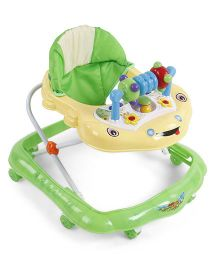Baby Musical Walker - Green Cream