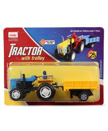 Centy Tractor with Trolley (Color May Vary)