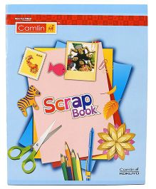 Kokuyo Camlin Scrap Book Multi Color - 32 Pages