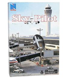 New-ray Airport Playset Airbus A320 & A380 - White