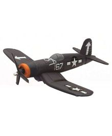 New-ray F4U Corsair Fighter Plane - Dark Grey