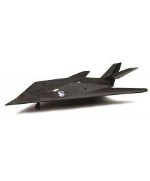 New-ray F-117 Night Hawk Fighter Plane - Dark Grey
