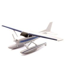 New-ray Cessna 172 Sky Hawk With Float - White & Blue
