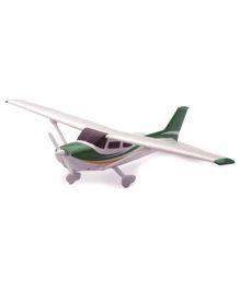 New-ray Cessna 172 Sky Hawk With Wheel - White & Green