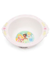 The First Years Disney Princess Bowl - White