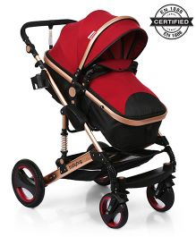 Babyhug Royal Ride Stroller - Maroon