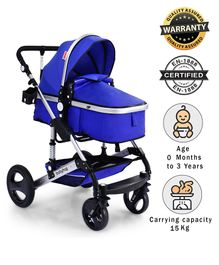 Babyhug Royal Ride Stroller - Navy Blue