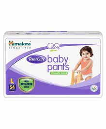 Himalaya Herbal Total Care Baby Pants Style Diapers Large - 54 Pieces