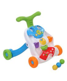 Winfun Roll N Pop Walker - Multicolor