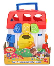 Winfun Sort N Learn Activity House - Multicolor