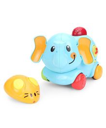 Winfun R/C Dancing Elephant - Yellow Blue