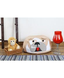 My Gift Booth Dog Bean Bag - Light Brown
