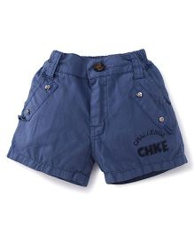 Olio Kids Shorts Challenge Print - Blue