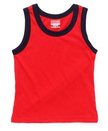 Babyhug Sleeveless Vest - Red