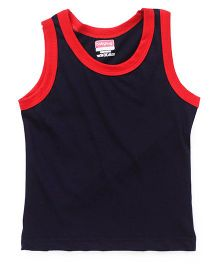 Babyhug Sleeveless Vest - Navy Blue