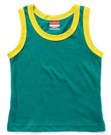 Babyhug Sleeveless Vest - Green