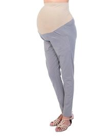 Kriti Maternity Leggings With Pocket - Grey