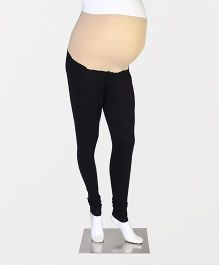 Kriti Maternity Leggings - Black