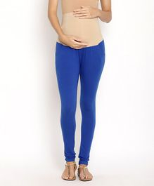 Kriti Maternity Leggings - Blue