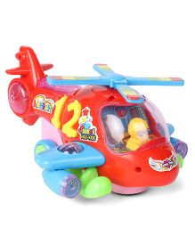 Kids Electronic Toy Helicopter - Red Blue