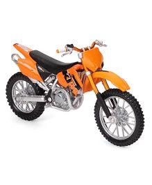 Maisto Die Cast Toy Bike KTM 525 SX - Orange