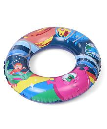 Bestway Printed Swimming Ring - Blue
