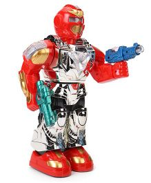 Musical Super Robot Toy - Red