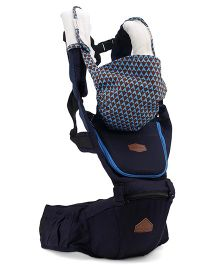 2 Way Hip Seat Carrier - Navy Blue