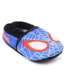 Spider Man Slip-on Style Booties - Blue