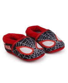 Spider Man Slip-on Style Booties - Red