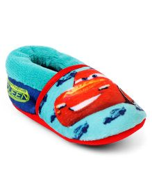 Disney Pixar Cars Slip-on Style Booties - Sea Green