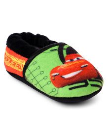 Disney Pixar Cars Slip-on Style Booties - Green Red