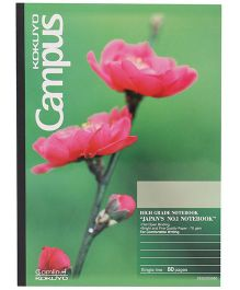 Kokuyo Camlin Notebook Single Line - 80 Pages