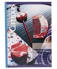 Kokuyo Camlin Single Rule Notebook - 80 Pages