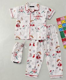 White Rabbit Fairy Dust Sleepwear - White