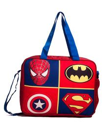 Li'Ll Pumpkins Superhero Notepad Bag - Red