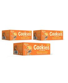 Slurrp Farm Wholewheat And Cheese Cookies Pack Of 3 Boxes - 75 gm each