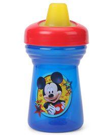 Disney International Mickey Print Soft Spout Cup Blue - 266 ml
