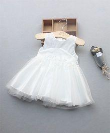 Pre Order - Awabox Beautiful Net Dress - White