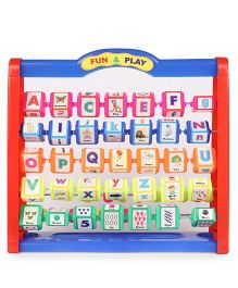 Juniors Fun & Play Learning Kit Big - Blue & Red