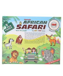 Playmate African Safari Puzzle - 5 Pieces