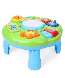 Musical Learning Table - Blue Green