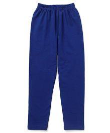 Simply Solid Color Full Length Leggings - Royal Blue