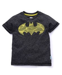 Batman Half Sleeves Printed Tee - Black