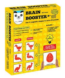 Play Panda Brain Booster Puzzle Type 3 - Multi Color