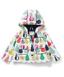 Penny Scallan Pear Salad Raincoat Size 1 - Multicolour