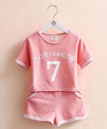Pre Order - Mauve Collection Shorts & Tees Top & Shorts Summer Sets - Pink