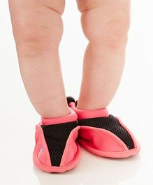 Splash About Non Slip Swimming Shoe - Pink & Black